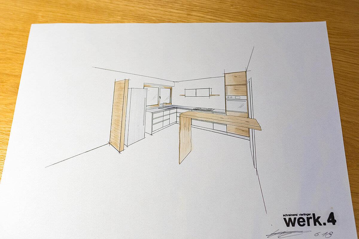 werk.4 visualisiert Ihre Küche nach Maß.